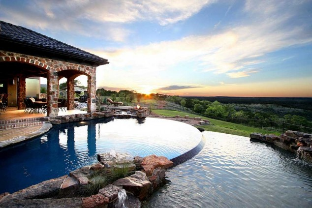 اجمل تصاميم احواض السباحة 9