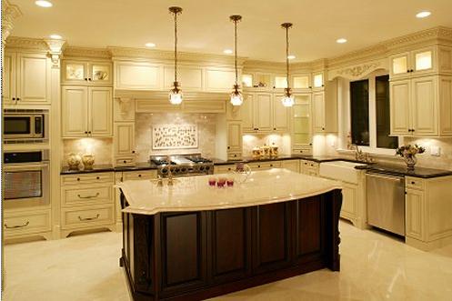 الإضاءة في المطبخ