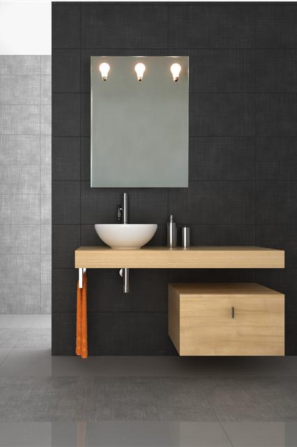تصميم بسيط وجميل لمرايات الحمامات