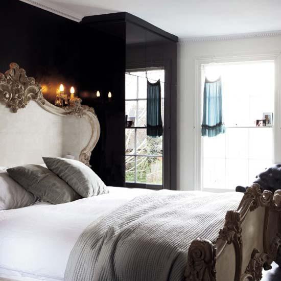 حوائط سوداء لغرف النوم 1