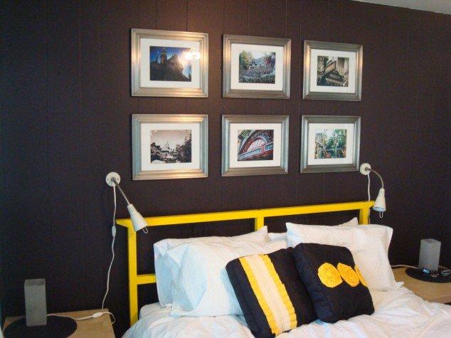 حوائط سوداء لغرف النوم 10
