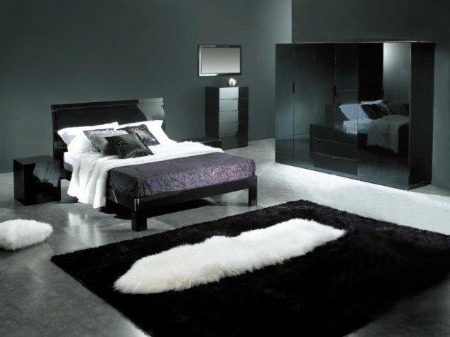 حوائط سوداء لغرف النوم 11