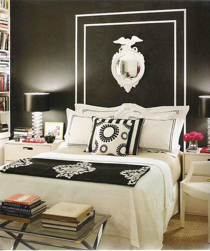 حوائط سوداء لغرف النوم 12