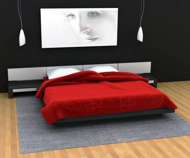 حوائط سوداء لغرف النوم 13
