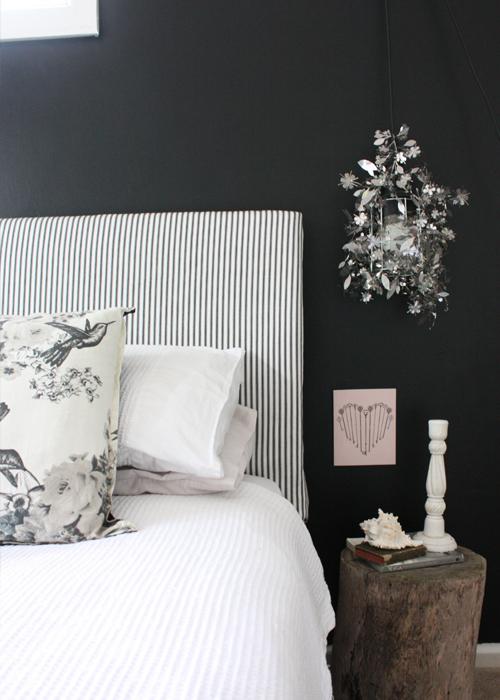 حوائط سوداء لغرف النوم 15