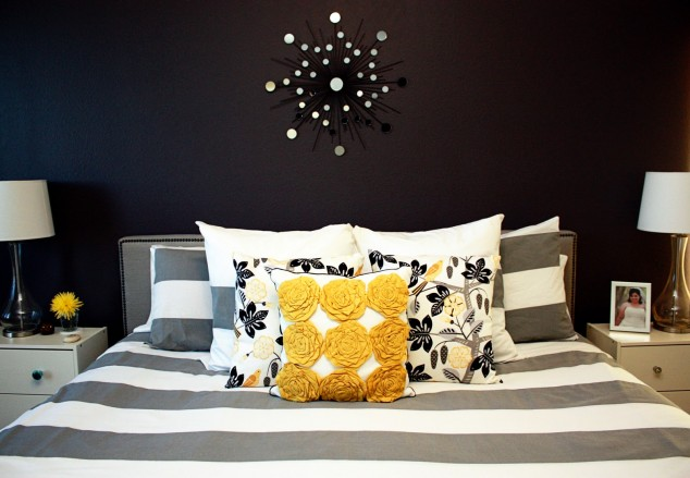 حوائط سوداء لغرف النوم 18