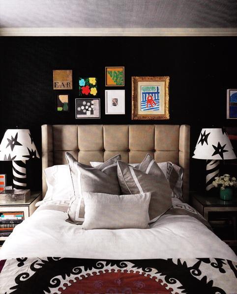 حوائط سوداء لغرف النوم 19