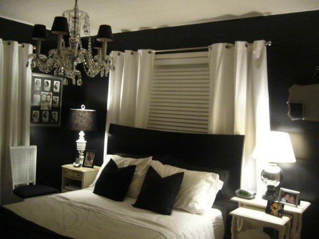 حوائط سوداء لغرف النوم 2