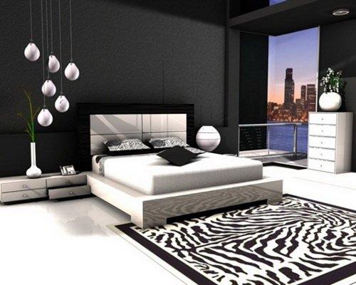 حوائط سوداء لغرف النوم 20