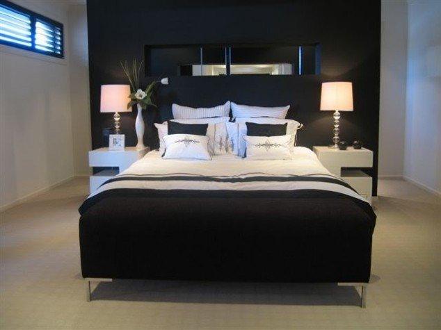 حوائط سوداء لغرف النوم 4
