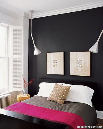 حوائط سوداء لغرف النوم 5