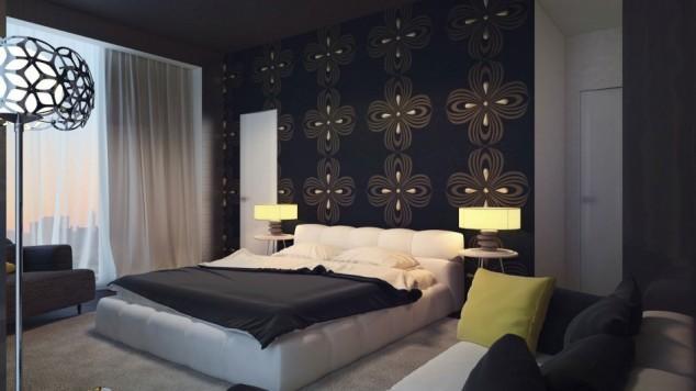 حوائط سوداء لغرف النوم 8