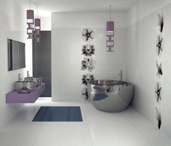 ديكورات الحمامات الحديثة 1