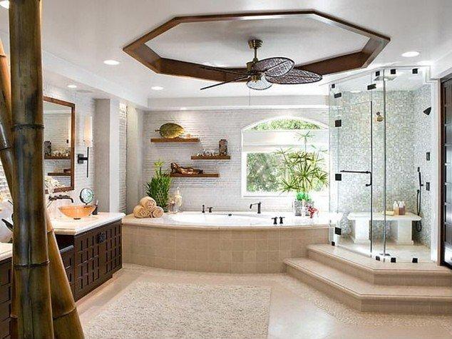 ديكورات الحمامات الحديثة 11
