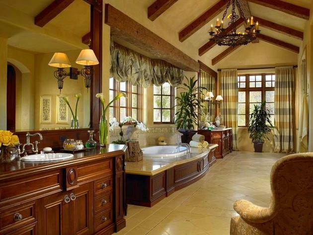 ديكورات الحمامات الحديثة 12