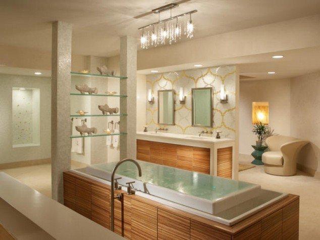 ديكورات الحمامات الحديثة 8