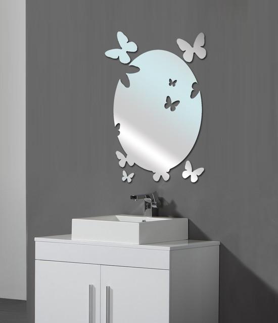 ديكور مرايات مبتكرة للحمامات
