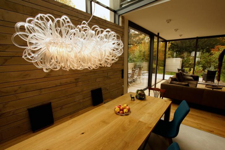 الاضاءة الحديثة في التصاميم الداخلية للمنازل