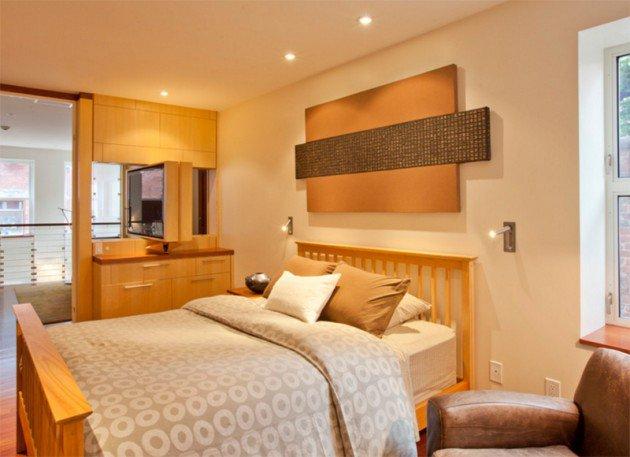 تصلميم مميزة للإضاءة في غرف النوم