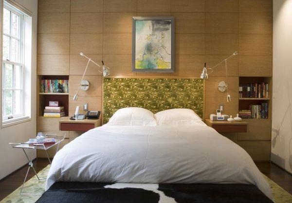 تصميم مبتكر ومتحرك لسرير غرفة النوم