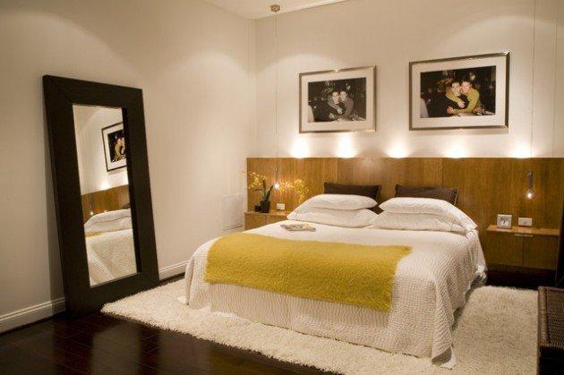 الاضاءة في غرف النوم الحديثة