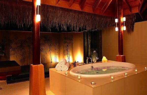 تزيين الحمام بطريقه رومانسيه