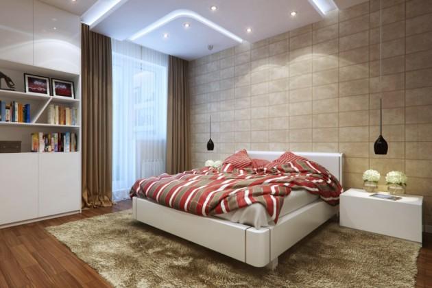 اشكال الإضاءة لغرف النوم
