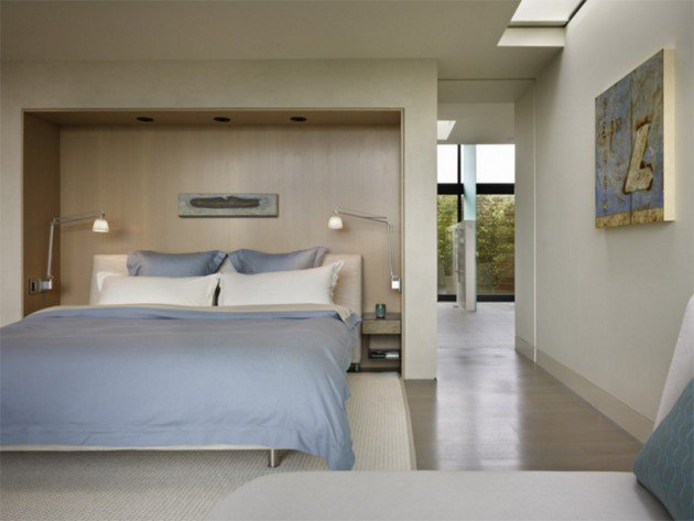 تصميم اضاءة غرف النوم