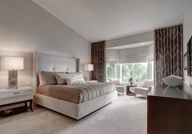 تصميم اضاءة غرفة النوم