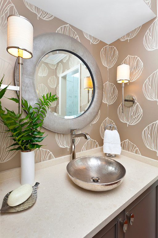 ديكورات الحمامات الحديثة