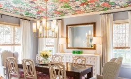 ورق جدران للسقف بتصاميم مثيرة تسرق الأنظار
