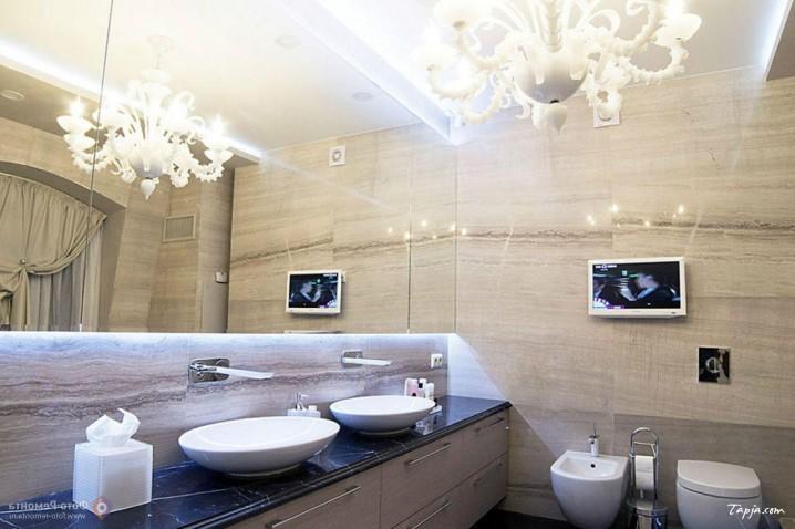 ديكورات حمامات مودرن