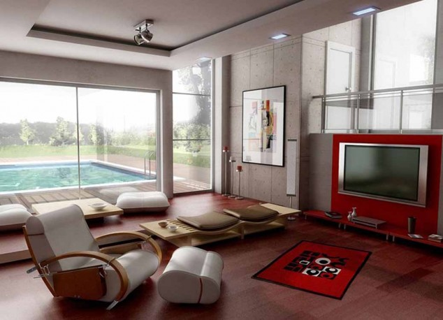 غرف معيشة مودرن