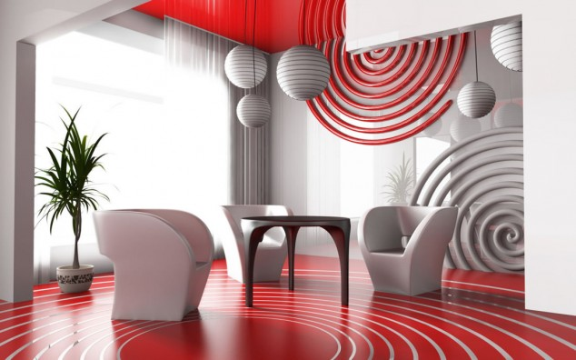 تصاميم غرف معيشة مودرن