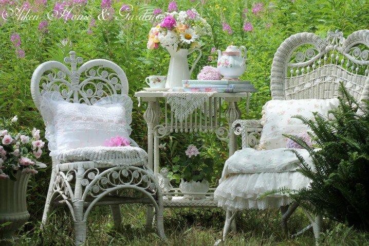 طرق تزيين حديقة المنزل