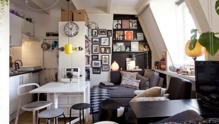 اجمل الديكورات الداخلية للمنازل الصغيرة
