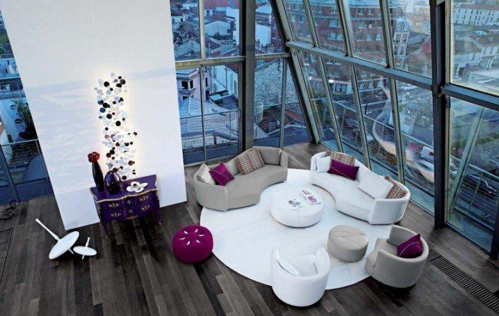 أفكار غرف معيشة مودرن بالصور من أشهر المصممين