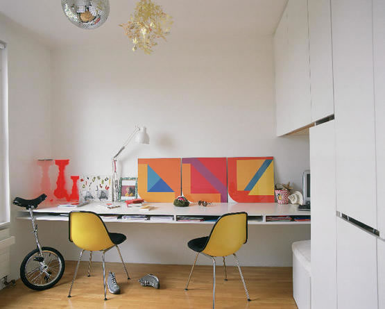 اشكال مكاتب منزلية بسيطة وغير مكلفة