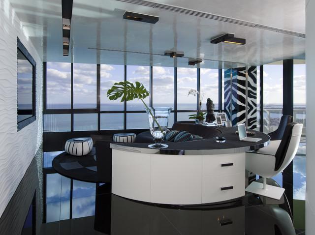 افخم المكاتب المنزلية الحديثة