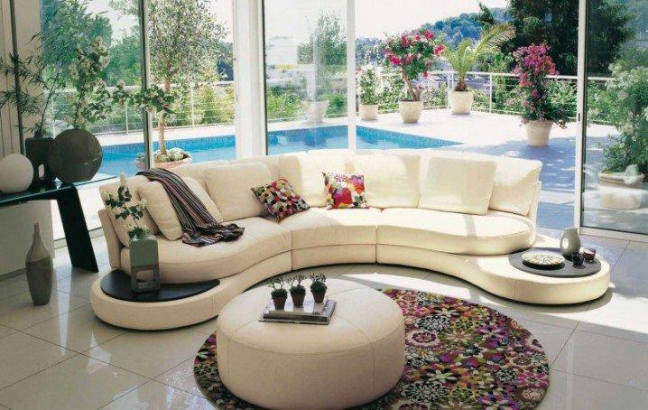 افكار تصاميم غرفة معيشة مودرن بالصور