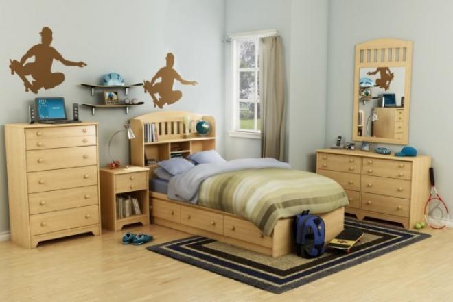 افكار لتزيين غرف الاطفال بالخشب الكلاسيكي