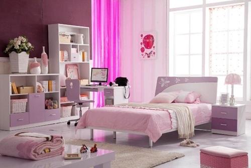 افكار لغرف نوم الاطفال البنات