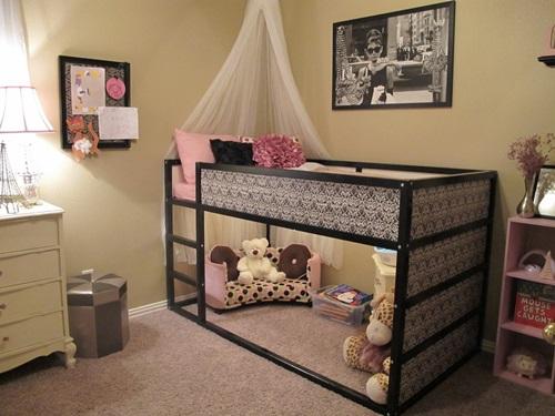 افكار لغرف نوم الاطفال للمساحات الضيقة