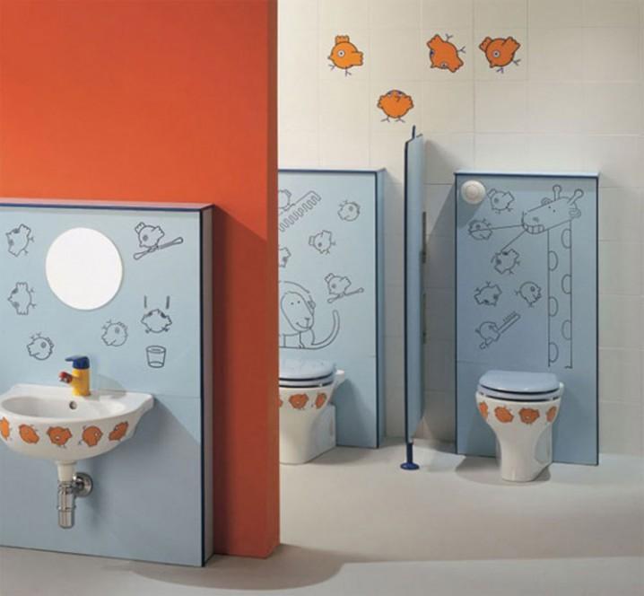 حمامات الاطفال
