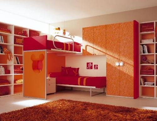 التصميم الداخلي لغرف نوم الأطفال