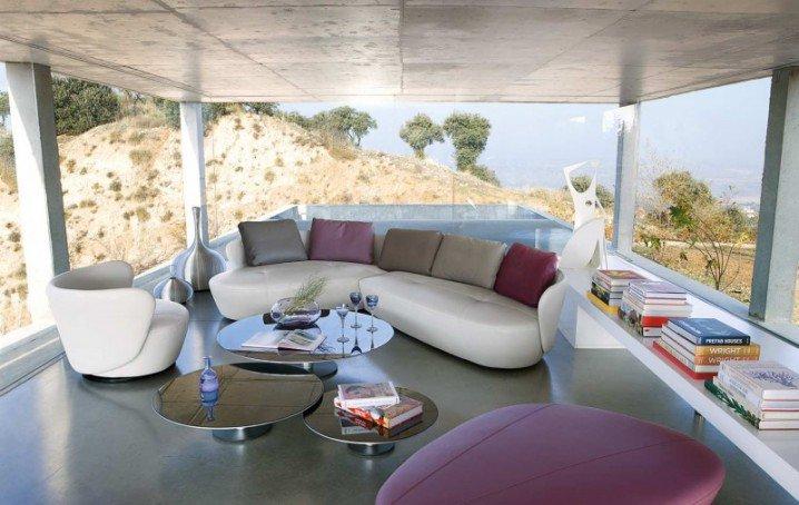 تصاميم غرف معيشة مودرن بالصور