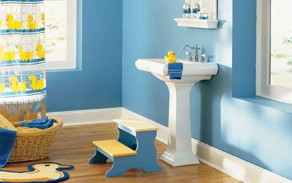 تصميم حمامات الاطفال