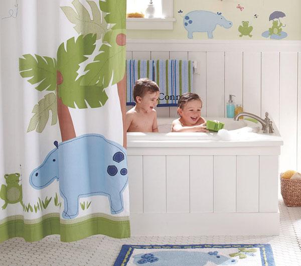 تصميم حمام لطفلك