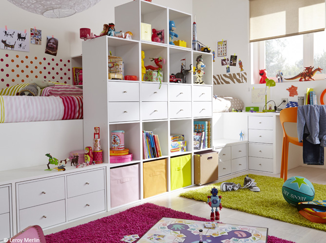 for Amenagement chambre 2 enfants