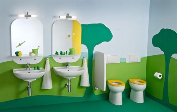 حمامات اطفال بتصاميم مميزة وحديثة